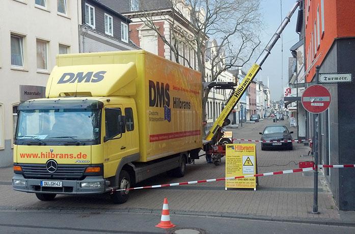 DMS Umzug Krefeld HILBRANS