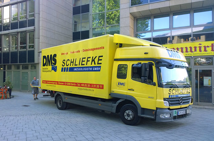 Umzüge Berlin Spandau dms umzug berlin schliefke