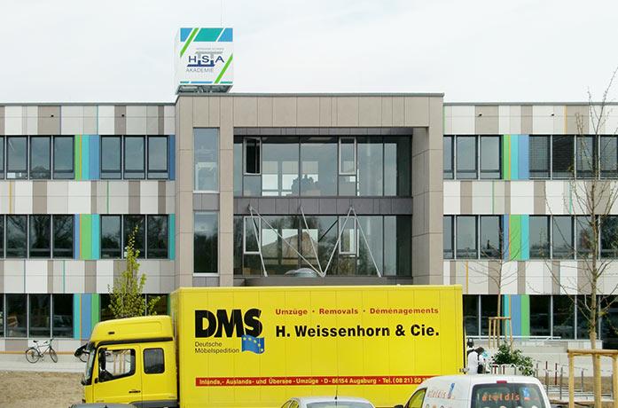 Umzug Schulen Weissenhorn